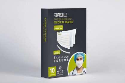 BARGELLO MEDİKAL MASKE 10LU